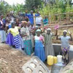 The Water Project: Kalenda B Community, Lumbasi Spring -  Community Celebrates The Spring