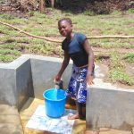The Water Project: Mubinga Community, Mulutondo Spring -  Easy Filling Up