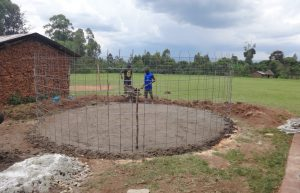 The Water Project:  Foundation Laid