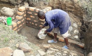The Water Project:  Cementing The Floor