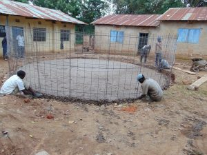 The Water Project:  Matching Rebar To Foundation