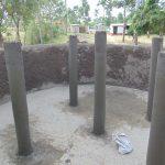 The Water Project: Friends School Ikoli Secondary -  Pillar Construction