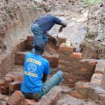 The Water Project: Kitulu Community, Kiduve Spring -  Stair Construction