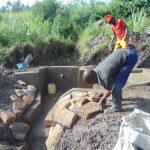 The Water Project: Bukhaywa Community, Shidero Spring -  Stone Pitching