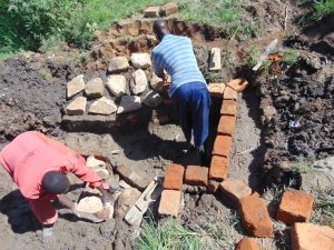The Water Project:  Brick And Stone Work