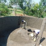 The Water Project: Khwihondwe SA Primary School -  Wall And Pillar Cement Work