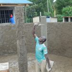The Water Project: Sawawa Secondary School -  Artisan Plastering Pillars