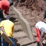 The Water Project: Imusutsu Community, Ikosangwa Spring -  Stair Construction
