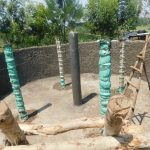 The Water Project: Khwihondwe SA Primary School -  Constuction Of Surport Pillars