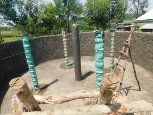 The Water Project:  Constuction Of Surport Pillars
