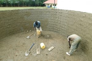 The Water Project:  Interior Cement