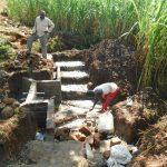 The Water Project: Namarambi Community, Iddi Spring -  Spring Construction