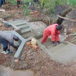 The Water Project: Musiachi Community, Mutuli Spring -  Plaster Work