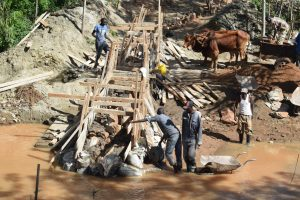 The Water Project:  Building Up The Sand Dam