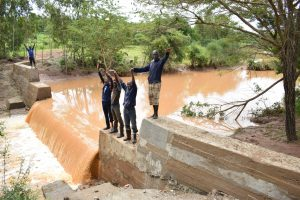 The Water Project:  Celebrating The Dam