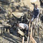The Water Project: Ngitini Community D -  Dam Scaffolding
