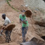 The Water Project: Ngitini Community D -  Digging At The Dam Site