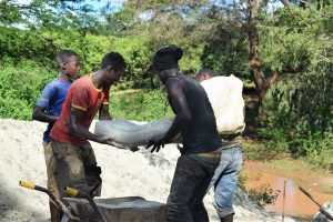 The Water Project:  Hauling Cement