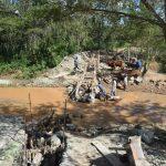 The Water Project: Ngitini Community D -  Sand Dam Phase Three Progress