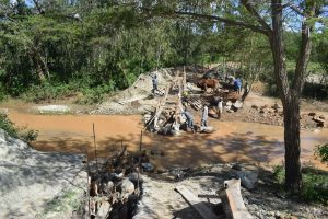 The Water Project:  Sand Dam Phase Three Progress