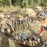 The Water Project: Ngitini Community D -  Starting Dam Construction