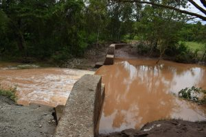 The Water Project:  Water Rushes Over The Dam