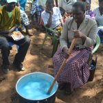 The Water Project: Wamwathi Community -  Mixing Soap