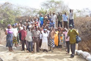 The Water Project:  Shg Members Celebrate
