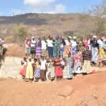The Water Project: Wamwathi Community -  Celebrating At The New Dam