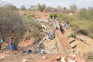 The Water Project:  Dam Wall Progress