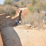 The Water Project: Wamwathi Community -  Final Dam