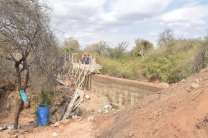 The Water Project:  Phase Dam Progress