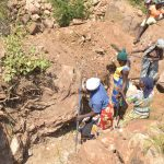 The Water Project: Wamwathi Community -  Trenching