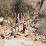 The Water Project: Wamwathi Community -  Working On Dam Walls