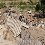 The Water Project: Kyamwao Community -  Dam Progress Phase Three