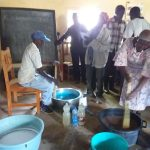 The Water Project: Kyamwao Community -  Mixing Soap