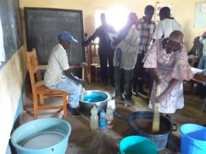 The Water Project:  Mixing Soap