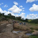 The Water Project: Kyamwao Community -  Dam Phase Four