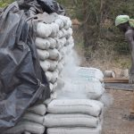 The Water Project: Ngitini Community E -  Cement