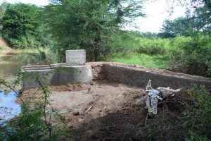 The Water Project:  Nearly Completed Well