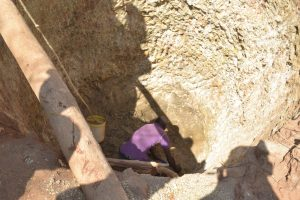 The Water Project:  Digging Well Hole