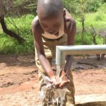 The Water Project: Wamwathi Community A -  Water From The Well