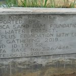The Water Project: Kyamwao Community A -  Shallow Well Plaque
