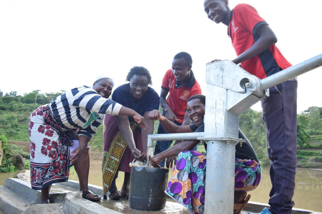 The Water Project : kenya19232-water-from-the-well