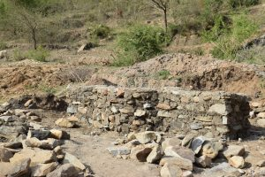 The Water Project:  Well Foundation Construction