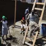 The Water Project: Maviaume Primary School -  Construction Team