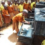 The Water Project: Maviaume Primary School -  Handwashing