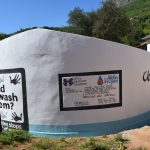 The Water Project: Maviaume Primary School -  Painted Tank