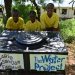 The Water Project: Maviaume Primary School -  Using The New Handwashing Stations