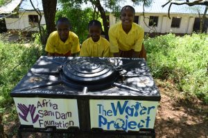 The Water Project:  Using The New Handwashing Stations